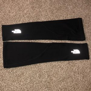 The North Face gloveless running sleeves